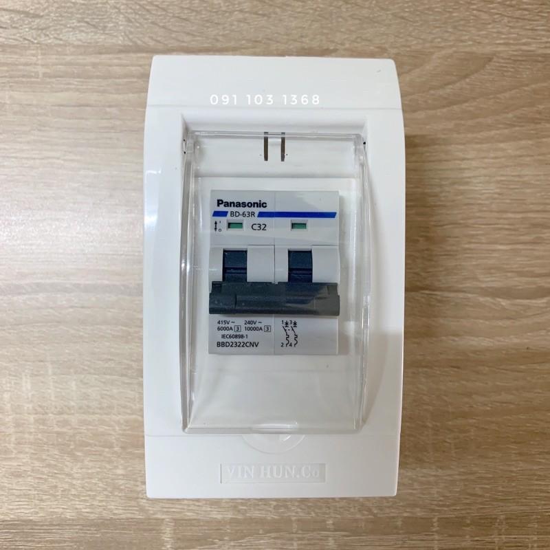 Hộp CB 2 pha gắn âm tường hoặc gắn nổi