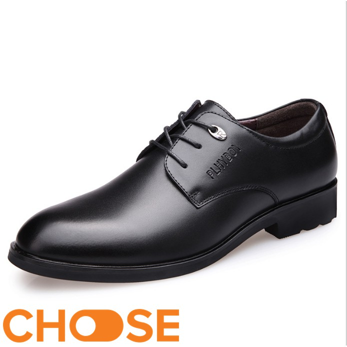 Giày Nam Choose Giày Tây Nam Da Slipon Tăng Chiều Cao G2504
