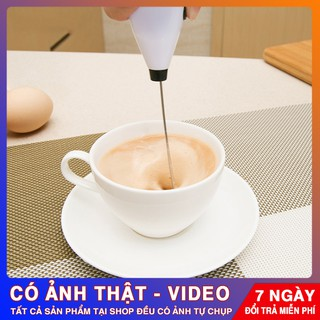 Máy Nhật Đánh Sữa Tạo Bọt Cà Phê Mini Cầm Tay Tiện Lợi MÃ: MRKM001 GIẢM 5K ĐƠN HÀNG 150K