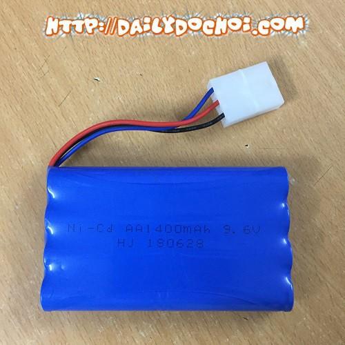 xuongphukien.vn Pin ô tô 9.6V dung lượng 1400mah Ket3P hàng chuẩn chất lượng cao Hàng Mới