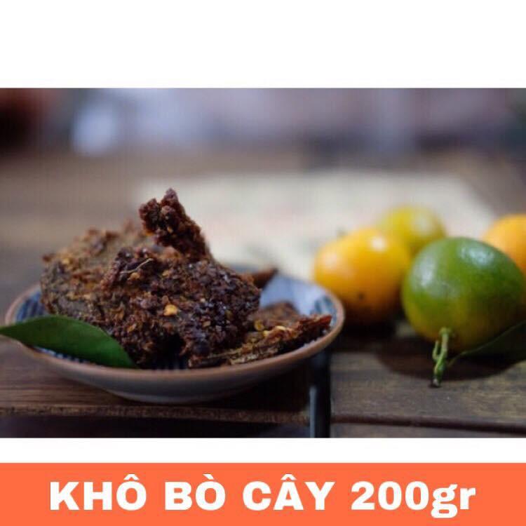 [FREESHIP] 200g | Khô bò (cây) Buôn Ma Thuột