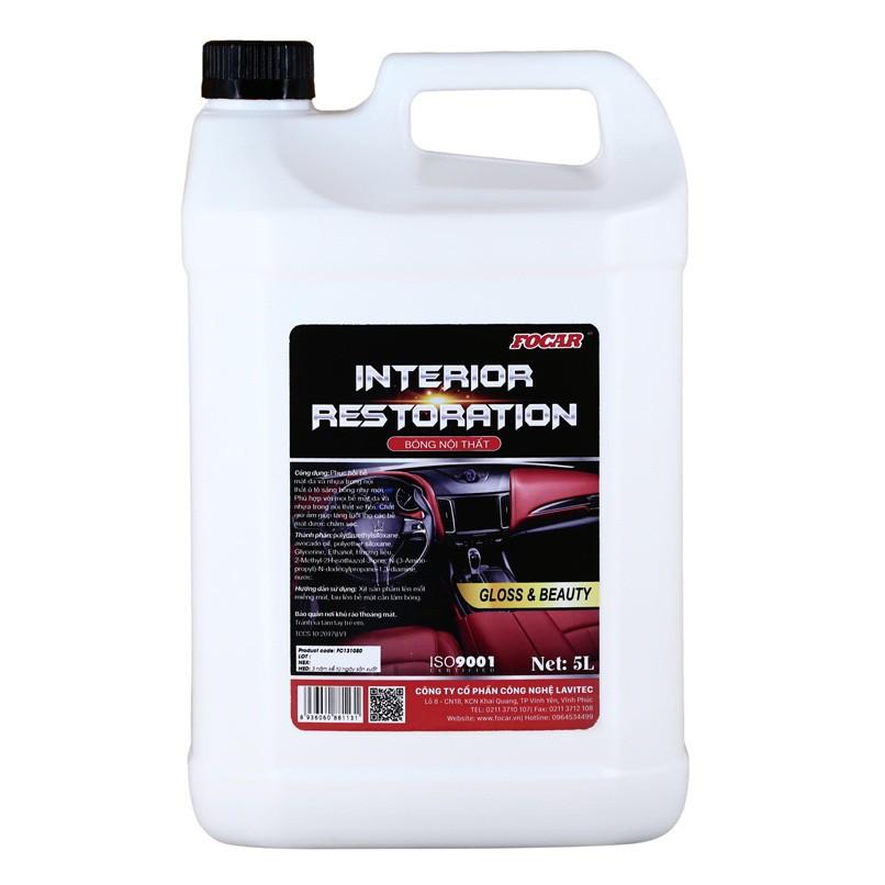 Dung dịch bóng nội thất Focar Interior Restoration 5 lít
