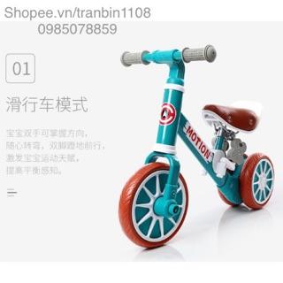 Xe đạp, chòi cho bé đến 5 tuổi 2in1