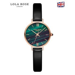 Đồng hồ nữ dây da mặt tròn Lola Rose đá bảo thạch cao câp thiết kế từ Anh, đồng hô chống nước bảo hành 2 năm LR2032 thumbnail