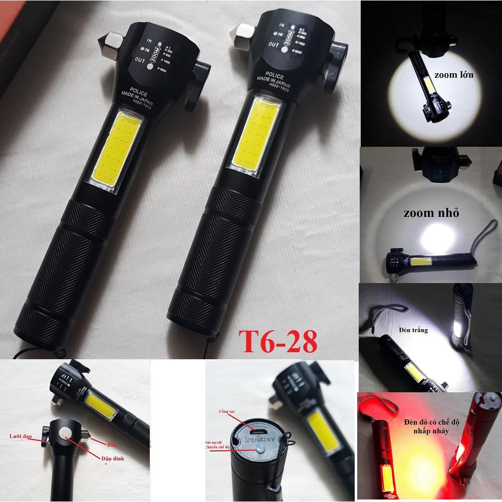 Đèn pin siêu sáng T6-28 (11 chức năng) | Shopee Việt Nam