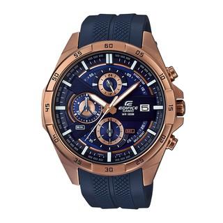 [Mã FARSBR153 giảm 15% đơn 150K] Đồng hồ nam dây cao su chính hãng Casio EDIFICE EFR-556PC-2AVUDF