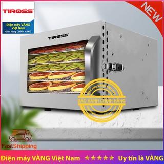 Máy sấy hoa quả thực phẩm Tiross TS-9683 6 khay sấy inox