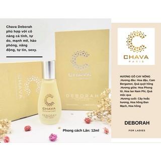 Nước Hoa Nữ Chava Deborah Chai Lăn 12ml thumbnail