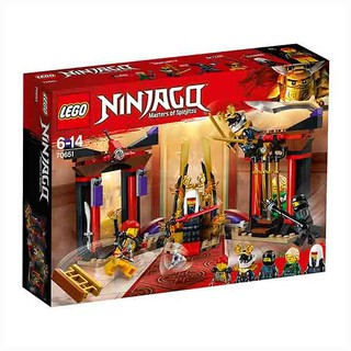 Đồ chơi lắp ráp LEGO NINJAGO – Trận Đối Đầu Tại Chánh Điện 70651