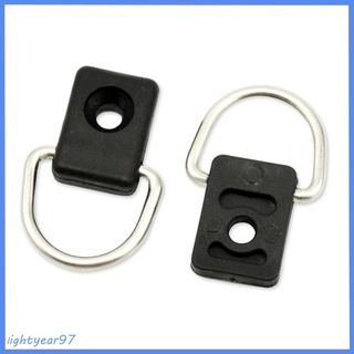 2 screw ring accessory Kayak D Rings Outfitting Rigging for Boat Canoe Kayak Accessories