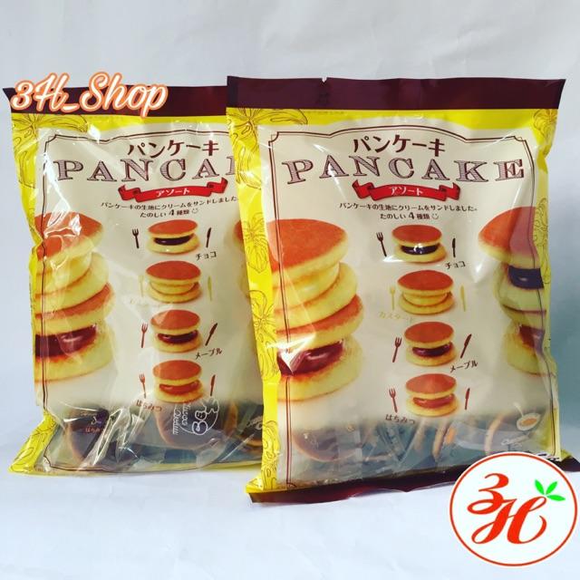 Bánh PANCAKE mini 3 vị date T12/19 xách tay Nhật Bản