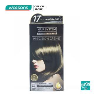 Thuốc Nhuộm Tóc Hair System By Watsons Professional Salon Precision 60ml+60ml+10ml . 05Ash Brown Nâu thumbnail