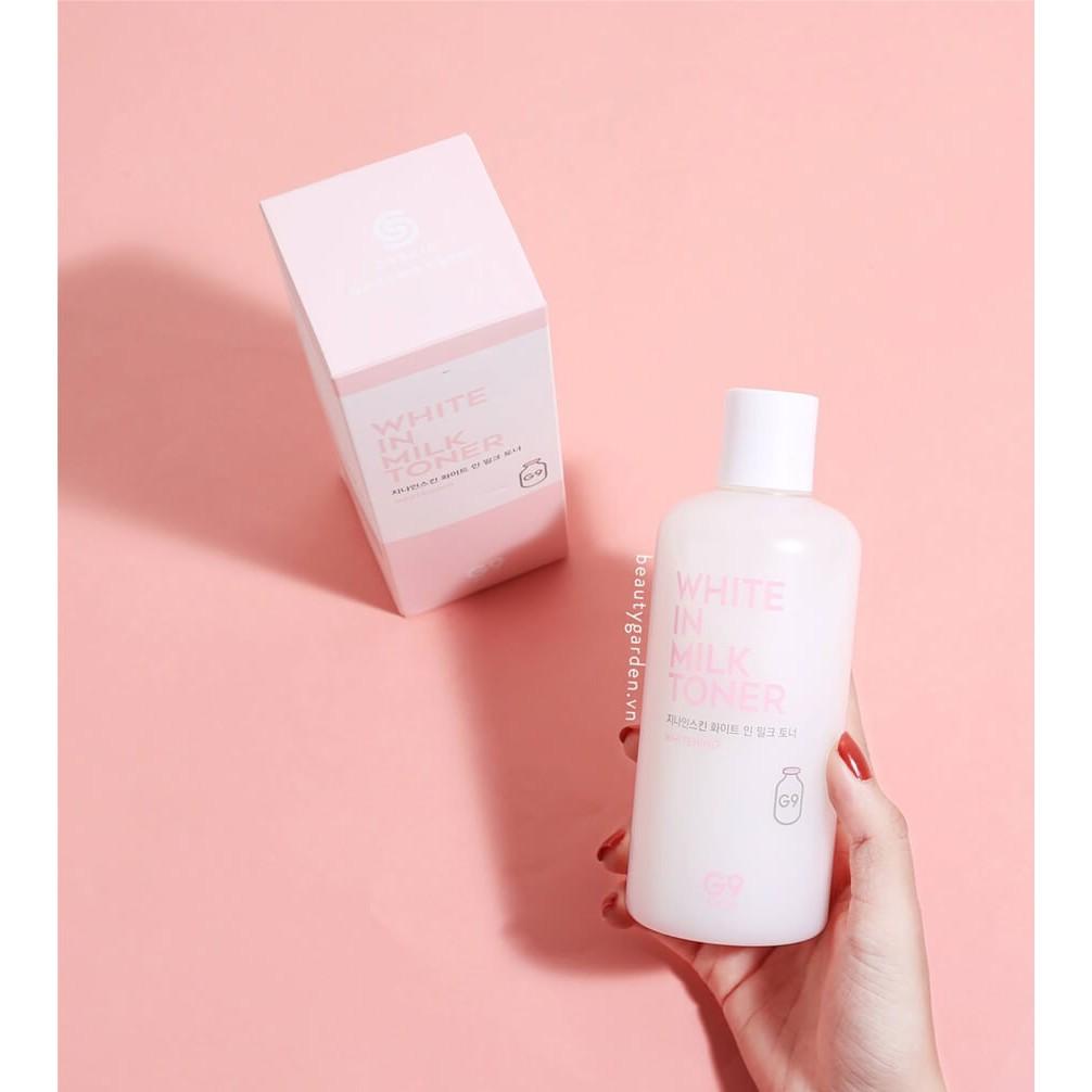 Nước Hoa Hồng G9-Skin White In Milk Toner - 3598663 , 968535066 , 322_968535066 , 250000 , Nuoc-Hoa-Hong-G9-Skin-White-In-Milk-Toner-322_968535066 , shopee.vn , Nước Hoa Hồng G9-Skin White In Milk Toner