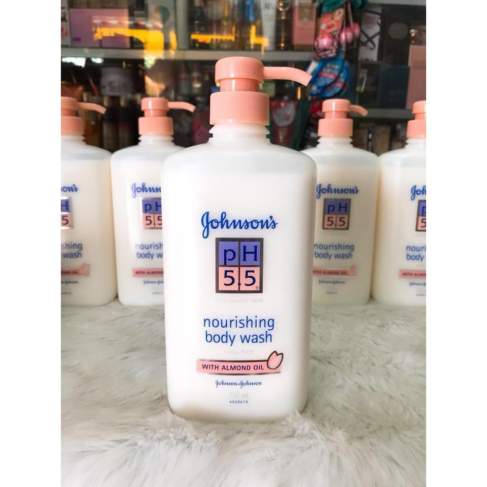 (750ml) Sữa Tắm pH 5.5 Johnson's Hạnh Nhân công ty - 3095847 , 1132082758 , 322_1132082758 , 256000 , 750ml-Sua-Tam-pH-5.5-Johnsons-Hanh-Nhan-cong-ty-322_1132082758 , shopee.vn , (750ml) Sữa Tắm pH 5.5 Johnson's Hạnh Nhân công ty