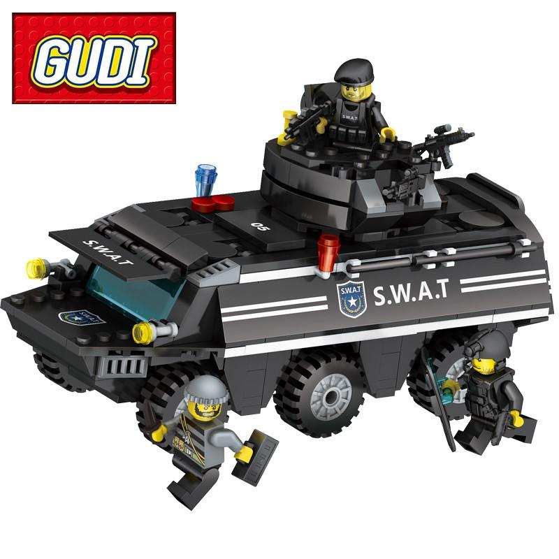 Lego Swat Police - Bộ Lắp Ráp Xe Bọc Thép Cảnh Sát Swat - 349 Chi Tiết - 9943051 , 1272717932 , 322_1272717932 , 250000 , Lego-Swat-Police-Bo-Lap-Rap-Xe-Boc-Thep-Canh-Sat-Swat-349-Chi-Tiet-322_1272717932 , shopee.vn , Lego Swat Police - Bộ Lắp Ráp Xe Bọc Thép Cảnh Sát Swat - 349 Chi Tiết