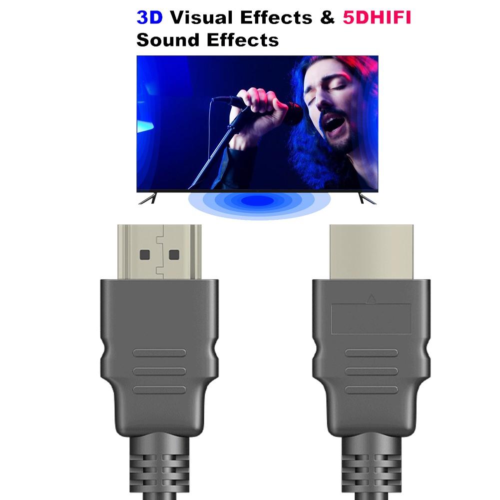 Dây Cáp Hdmi 1 / 1.5m Hd 1080p 3d Cho Máy Chiếu Ps3