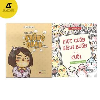 Sách- Combo 2 cuốn Vui vẻ không quạu - Một cuốn sách buồn ... cười thumbnail