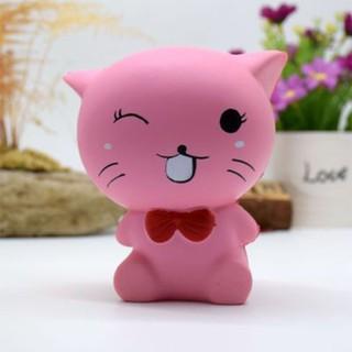 Đồ chơi Squishy hình mèo dễ thương xả Stress