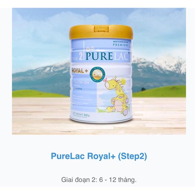 Sữa công thức cao cấp PURELAC stage 2 | Shopee Việt Nam