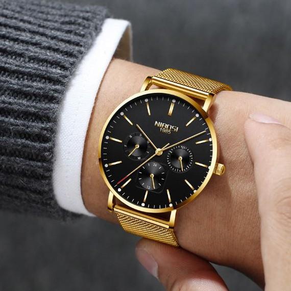 [Tặng vòng tay]Đồng hồ nam NIBOSI chính hãng NI2321-1.03 thời trang cao cấp