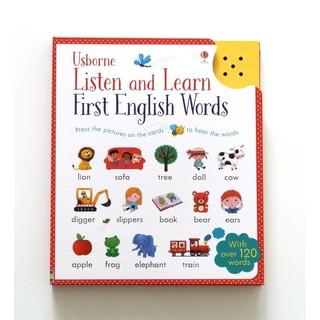 ĐỒ CHƠI ÂM THANH TIẾNG ANH LISTEN AND LEARN FIRST ENGLISH WORDS