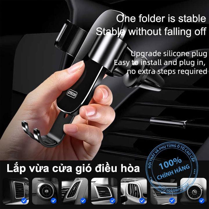 Giá đỡ điện thoại trọng lực Joyroom cao cấp chính hãng cho ô tô xe hơi