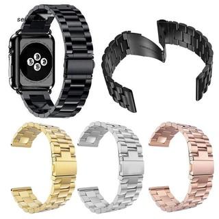 Bộ dây đeo thép không gỉ 38/42mm thay thế cho đồng hồ Apple Watch 1/2/3