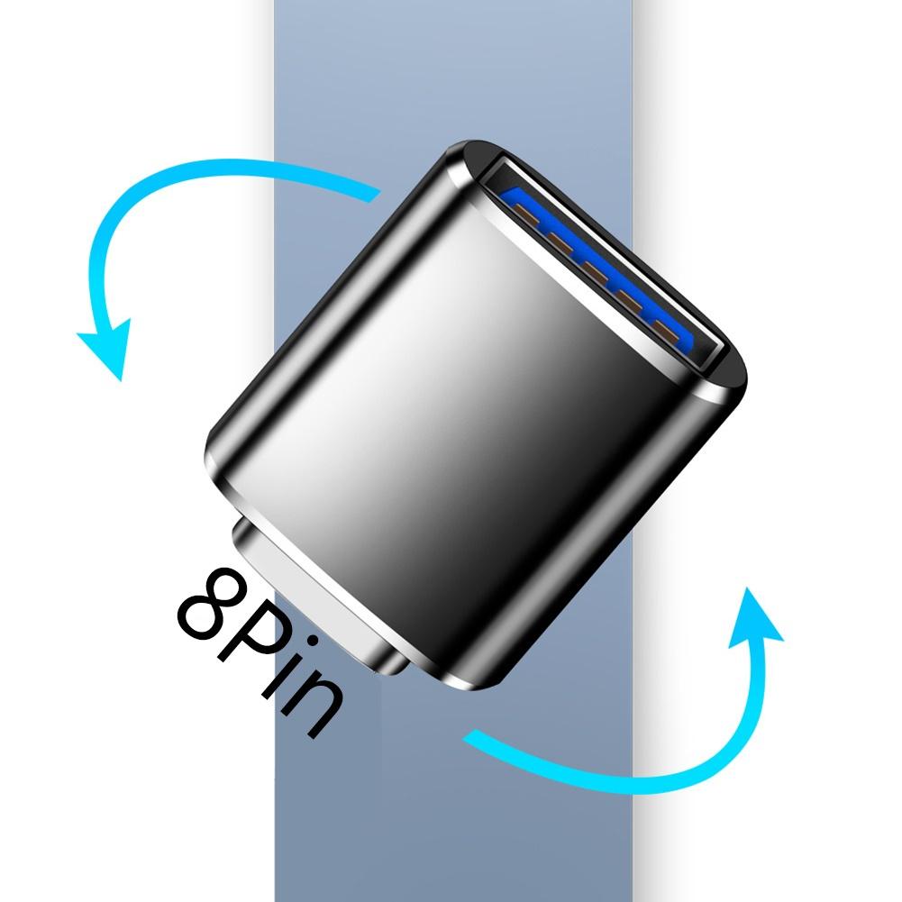 IPHONE Đầu Chuyển Đổi Từ Cổng Usb 3.0 Sang 8pin Tiện Dụng