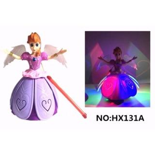 Đèn lồng Công Chúa Elsa xoay 360 độ có đèn có nhạc