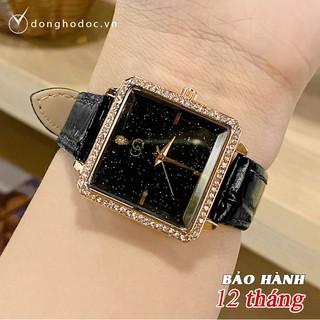 Đồng hồ Nữ GUQI RUBY Nhỏ Xinh Phù Hợp Cố Tay Việt Nam - Tặng kèm Pin ĐH dự phòng thumbnail