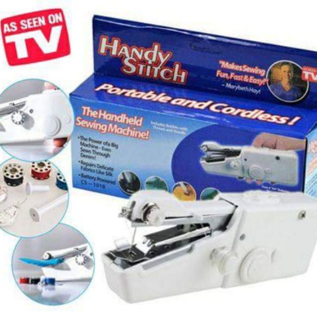Máy khâu cầm tay mini gia đình Handy Stitch LL - 3039191 , 368151039 , 322_368151039 , 118000 , May-khau-cam-tay-mini-gia-dinh-Handy-Stitch-LL-322_368151039 , shopee.vn , Máy khâu cầm tay mini gia đình Handy Stitch LL