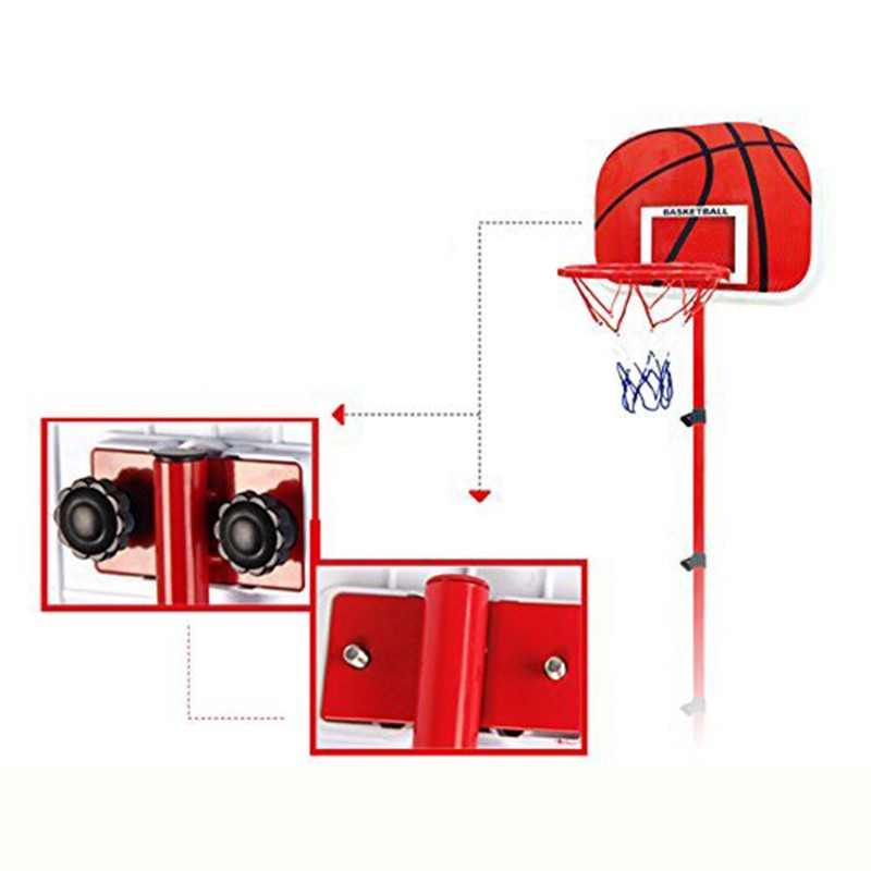 Basketball Stand, Basket, Height adjustable, Toy for children