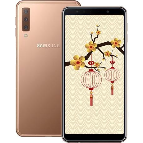 Điện thoại Samsung Galaxy A7 (2018) fullboox tặng tai nghe bluetooth