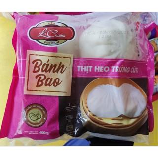 Bánh Bao Nhân Thịt Heo Trứng Cút 400g ( 4 cái/gói ) GIAO HÀNG KV HCM