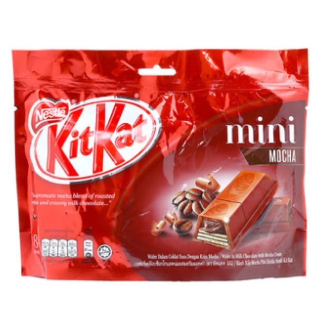 Sô cô la Kitkat Nestlé Mocha mini 8 thanh *15g - 2546712 , 819955621 , 322_819955621 , 99000 , So-co-la-Kitkat-Nestle-Mocha-mini-8-thanh-15g-322_819955621 , shopee.vn , Sô cô la Kitkat Nestlé Mocha mini 8 thanh *15g