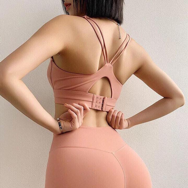Áo bra cài sau hàng Quảng Châu cao cấp chất liệu co dãn thoải mái