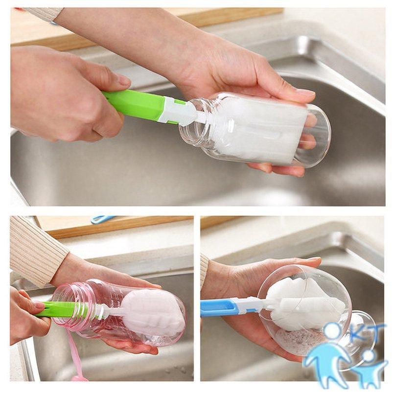Cọ xốp rửa ly có tay cầm tiện lợi cho nhà bếp