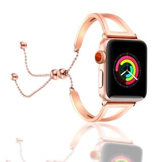 Dây Đồng Hồ Bằng Thép Không Gỉ Cho Apple Watch Se 6 38mm 42mm 40mm 44mm Series 5 4 3 2 1