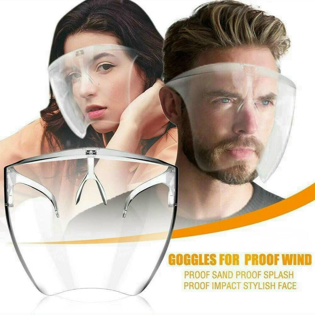 Kính chống giọt bắn phòng dịch bảo hộ Full Face trong suốt - Mặt nạ chống giọt dầu văng bắn...