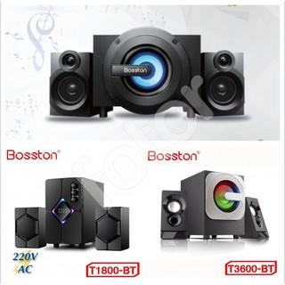 [FREESHIP] LOA VI TÍNH 2.1 BLUETOOTH BOSSTON T3600-BT, T1800, T3700-BT LED RGB