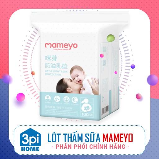 Miếng lót thấm sữa Mameyo - bịch 100 miếng siêu rẻ siêu tiết kiệm cho mẹ