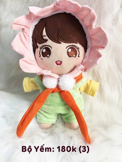 Outfit cho doll 20-15cm