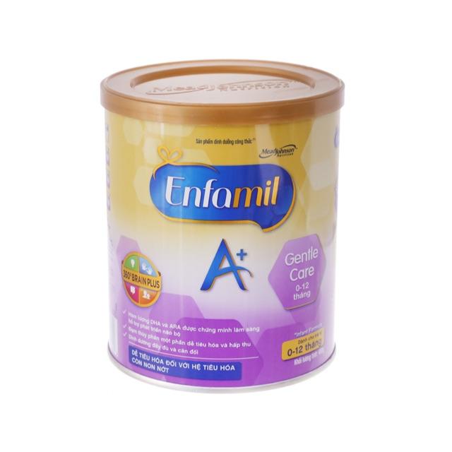 (Sale date T7/2021)Sữa Bột Enfamil Gentle Care 350gr-Thuỷ phân 1 phần