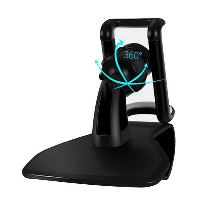 Giá đỡ điện thoại kẹp taplo ô tô - 360