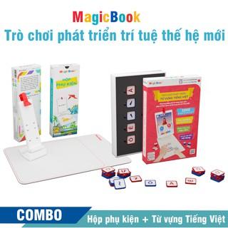 Trọn bộ phát triển từ vựng Tiếng Việt – Magicbook – Trò chơi phát triển trí tuệ trẻ em – Size S Box