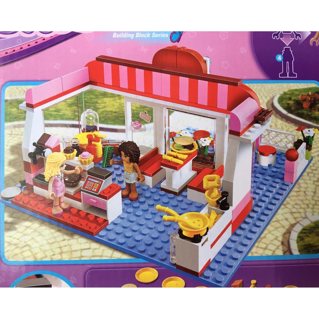 Lego Friends quán cà phê - 10162