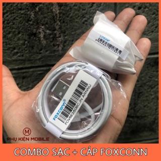 COMBO SẠC + CÁP IPHONE FOXCONN - BẢO HÀNH 1 THÁNG ĐỔI MỚI thumbnail