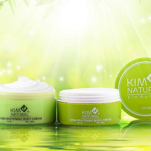 Body ủ Kim Natural siêu trắng