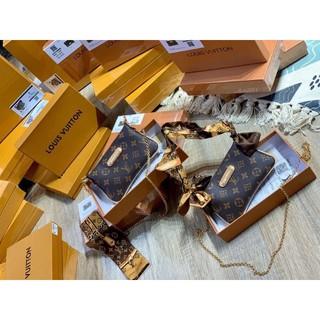 [FreeShip] Túi Đeo Chéo mini, Kẹp Nách Fullbox, size 20 vừa điện thoại