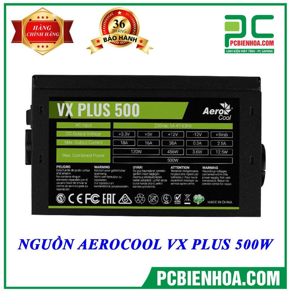 ( RẺ NHẤT SHOPEE ) NGUỒN AEROCOOL VX PLUS 500W